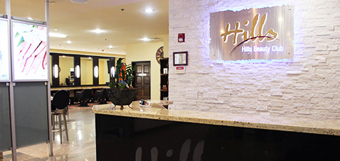 Hills Beauty Club Entrance